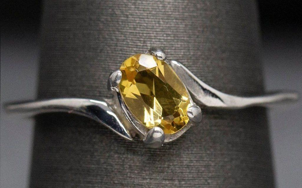The best quality yellow sapphire